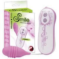 Vibrační vajíčko Smile Funky - Růžová