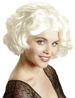 Paruka Marilyn krátká blond