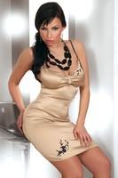 Košilka Arachne-LivCo Corsetti - gold - S