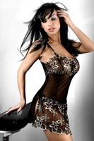 Košilka Hera-LivCo Corsetti - černá - S/M