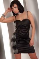 Košilka LivCo Corsetti Hathor - černá - S