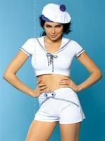 Sexy kostým Obsessvie Marine - bílá - S/M
