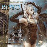 FANTASY ART OF ROYO - Official 2014 Calendar ***SLEVA 50%!***