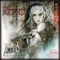 FANTASY ART OF ROYO - 2016 CALENDAR