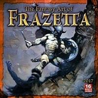 FANTASY ART OF FRANK FRAZETTA - 2017 CALENDAR