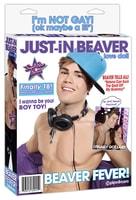 Nafukovací panák Justin Beaver