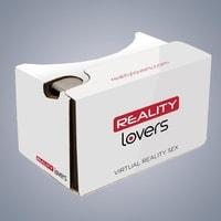 Reality Lovers balíček virtuální reality + lepenkové brýle