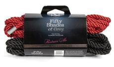 Bondážní lano Fifty Shades of Grey Bondage Rope Twin Pack 5 m